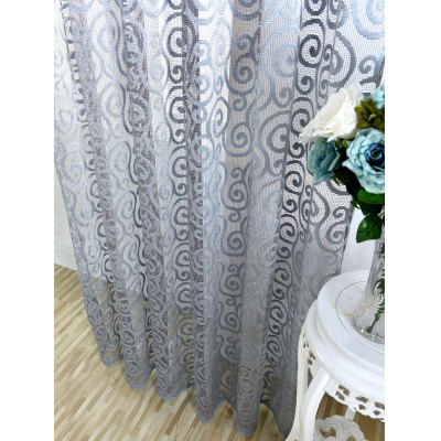 1Pcs Jacquard Home Decor Voile Shading CurtainWindow Treatments<br>1Pcs Jacquard Home Decor Voile Shading Curtain<br><br>Applicable Window Type: French Window<br>Function: Translucidus (Shading Rate 1%-40%)<br>Installation Type: Ceiling Installation<br>Location: Window<br>Material: Cloth Curtain + Voile Curtain<br>Opening and Closing Method: Left and Right Biparting Open<br>Package Contents: 1 x Curtain ?1 Panel?<br>Pattern Type: Floral<br>Processing: Punching<br>Processing Accessories Cost: Excluded<br>Style: European and American Style<br>Type: Curtain<br>Use: Cafe, Hotel, Office, Home<br>Weight: 0.4600kg