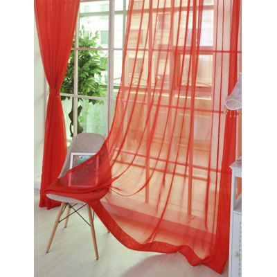 Sheer Window Tulle Fabric Curtain For Living RoomWindow Treatments<br>Sheer Window Tulle Fabric Curtain For Living Room<br><br>Applicable Window Type: French Window<br>Function: Translucidus (Shading Rate 1%-40%)<br>Installation Type: Ceiling Installation<br>Location: Window<br>Material: Voile Curtain<br>Opening and Closing Method: Left and Right Biparting Open<br>Package Contents: 1 x Curtain ?1 Panel?<br>Pattern Type: Solid<br>Processing Accessories Cost: Excluded<br>Style: Modern<br>Type: Curtain<br>Use: Cafe, Home, Hotel, Office<br>Weight: 0.1800kg