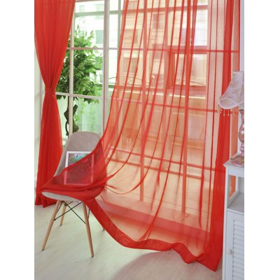 1 Pair of Sheer Window Tulle Fabric CurtainsWindow Treatments<br>1 Pair of Sheer Window Tulle Fabric Curtains<br><br>Applicable Window Type: French Window<br>Function: Translucidus (Shading Rate 1%-40%)<br>Installation Type: Ceiling Installation<br>Location: Window<br>Material: Voile Curtain<br>Opening and Closing Method: Left and Right Biparting Open<br>Package Contents: 1 x Curtain ( Pair)<br>Pattern Type: Solid<br>Processing Accessories Cost: Excluded<br>Style: Modern<br>Type: Curtain<br>Use: Cafe, Home, Hotel, Office<br>Weight: 0.3200kg