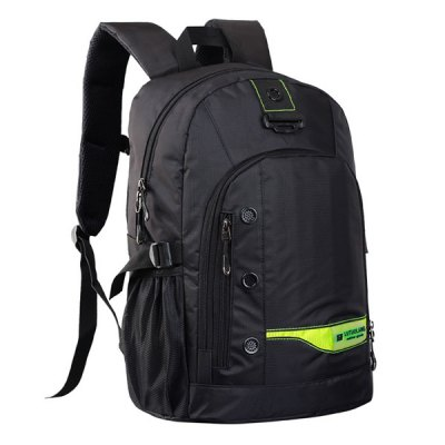 Pad Shoulder Straps Nylon BackpackBackpacks<br>Pad Shoulder Straps Nylon Backpack<br><br>Backpack Usage: Daily Backpack<br>Backpacks Type: Softback<br>Closure Type: Zipper<br>Gender: For Men<br>Height: 45CM<br>Length: 31CM<br>Main Material: Nylon<br>Package Contents: 1 x Backpack<br>Pattern Type: Others<br>Weight: 1.2000kg<br>Width: 19CM