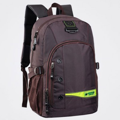 Pad Shoulder Straps Nylon BackpackMens Bags<br>Pad Shoulder Straps Nylon Backpack<br><br>Backpack Usage: Daily Backpack<br>Backpacks Type: Softback<br>Closure Type: Zipper<br>Gender: For Men<br>Height: 45CM<br>Length: 31CM<br>Main Material: Nylon<br>Package Contents: 1 x Backpack<br>Pattern Type: Others<br>Weight: 1.2000kg<br>Width: 19CM