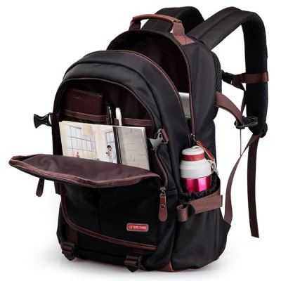 Casual Pad Shoulder Straps Nylon BackpackBackpacks<br>Casual Pad Shoulder Straps Nylon Backpack<br><br>Backpack Usage: Daily Backpack<br>Backpacks Type: Softback<br>Closure Type: Zipper<br>Gender: For Men<br>Height: 47CM<br>Length: 32CM<br>Main Material: Nylon<br>Package Contents: 1 x Backpack<br>Pattern Type: Others<br>Weight: 1.2000kg<br>Width: 20CM