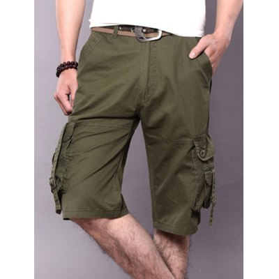 Metal Buckle Design Pockets Cargo ShortsMens Shorts<br>Metal Buckle Design Pockets Cargo Shorts<br><br>Closure Type: Zipper Fly<br>Fit Type: Regular<br>Front Style: Pleated<br>Length: Short<br>Material: Cotton, Polyester<br>Package Contents: 1 x Cargo Shorts<br>Style: Fashion<br>Waist Type: Mid<br>Weight: 0.4000kg<br>With Belt: No