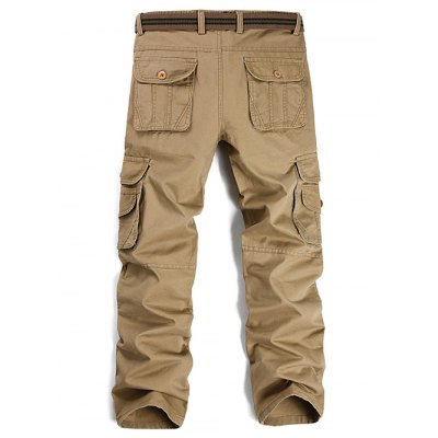 Pockets Embellished Straight Leg PantsMens Pants<br>Pockets Embellished Straight Leg Pants<br><br>Closure Type: Zipper Fly<br>Fit Type: Regular<br>Front Style: Pleated<br>Material: Cotton, Polyester<br>Package Contents: 1 x Cargo Pants<br>Pant Length: Long Pants<br>Pant Style: Cargo Pants<br>Style: Fashion<br>Waist Type: Mid<br>Weight: 0.7100kg<br>With Belt: No