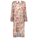 Long Sleeve Midi Floral Print Dress deal