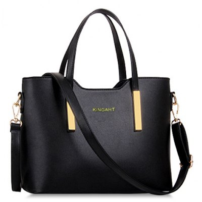 Stunning Metallic and Solid Color Design Women's Tote Bag