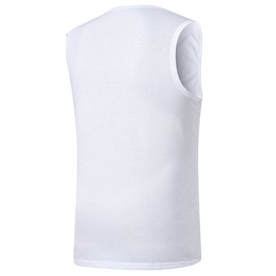 Crew Neck Basic Tank Top