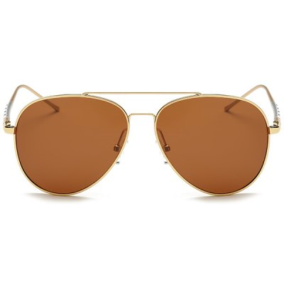 Polarized UV Protection Pilot SunglassesStylish Sunglasses<br>Polarized UV Protection Pilot Sunglasses<br><br>Frame Color: Multi-color<br>Frame Length: 14.1CM<br>Frame material: Alloy<br>Gender: For Men<br>Group: Adult<br>Lens height: 5.5CM<br>Lens material: Resin<br>Lens width: 6.0CM<br>Nose: 1.9CM<br>Package Contents: 1 x Sunglasses<br>Style: Fashion<br>Temple Length: 13.8CM<br>Weight: 0.0300kg