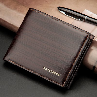 Faux Leather Wood Pattern Bifold WalletMens Wallets<br>Faux Leather Wood Pattern Bifold Wallet<br><br>Closure Type: No Zipper<br>Gender: For Men<br>Height: 9CM<br>Length: 12CM<br>Main Material: PU<br>Package Contents: 1 x Wallet<br>Pattern Type: Others<br>Style: Fashion<br>Wallets Type: Standard Wallets<br>Weight: 0.4500kg<br>Width: 1.5CM