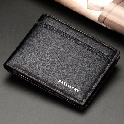 Bi Fold Textured Faux Leather WalletMens Wallets<br>Bi Fold Textured Faux Leather Wallet<br><br>Closure Type: Zipper<br>Gender: For Men<br>Height: 10CM<br>Length: 12CM<br>Main Material: PU<br>Package Contents: 1 x Wallet<br>Pattern Type: Letter<br>Style: Fashion<br>Wallets Type: Standard Wallets<br>Weight: 0.1110kg<br>Width: 2CM