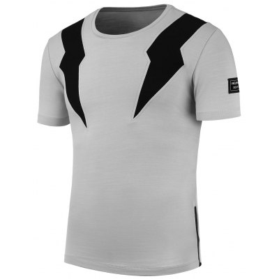 Two Tone Short Sleeve T-Shirt