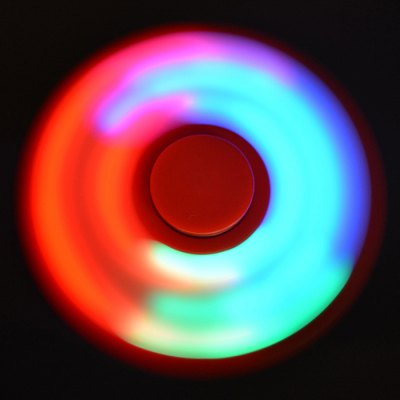 Anti-Stress Toy Color Changing LED Fidget Finger SpinnerFidget Spinners<br>Anti-Stress Toy Color Changing LED Fidget Finger Spinner<br><br>Features: Creative Toy, Flashing, LED Light<br>Frame material: Plastic<br>Package Contents: 1 x Fidget Spinner<br>Products Type: Fidget Spinner<br>Swing Numbers: Tri-Bar<br>Theme: Game<br>Weight: 0.0400kg