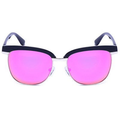 Mirror Reflective Metallic Splicing Frame SunglassesStylish Sunglasses<br>Mirror Reflective Metallic Splicing Frame Sunglasses<br><br>Frame Color: Multi-color<br>Frame material: Other<br>Gender: For Unisex<br>Group: Adult<br>Lens height: 5.1CM<br>Lens material: Resin<br>Lens width: 5.3CM<br>Nose: 1.9CM<br>Package Contents: 1 x Sunglasses<br>Style: Fashion<br>Temple Length: 14.0CM<br>Weight: 0.0300kg