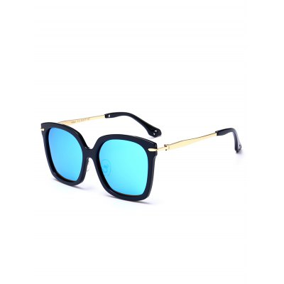 Mirrored Butterfly Sunglasses with Metal LegStylish Sunglasses<br>Mirrored Butterfly Sunglasses with Metal Leg<br><br>Frame Color: Multi-color<br>Frame Length: 14CM<br>Frame material: Other<br>Gender: For Unisex<br>Group: Adult<br>Lens height: 4.7CM<br>Lens material: Resin<br>Lens width: 5.3CM<br>Nose: 1.7CM<br>Package Contents: 1 x Sunglasses<br>Shape: Butterfly<br>Style: Fashion<br>Temple Length: 13.7CM<br>Weight: 0.0840kg