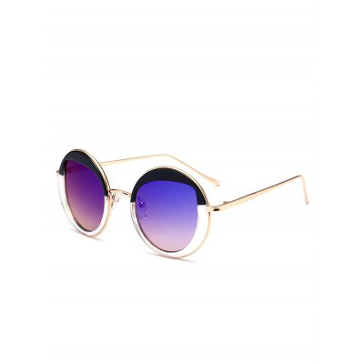Mirrored Cat Eye Lens Panel Round SunglassesStylish Sunglasses<br>Mirrored Cat Eye Lens Panel Round Sunglasses<br><br>Frame Color: Gold<br>Frame Length: 13.6CM<br>Frame material: Alloy<br>Gender: For Women<br>Group: Adult<br>Lens height: 4.4CM<br>Lens material: Resin<br>Lens width: 3.5CM<br>Nose: 1.7CM<br>Package Contents: 1 x Sunglasses<br>Shape: Round<br>Style: Retro<br>Temple Length: 13.7CM<br>Weight: 0.0980kg