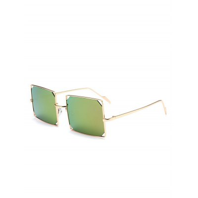 Metal Hollow Out Mirrored Lens Rectangle SunglassesStylish Sunglasses<br>Metal Hollow Out Mirrored Lens Rectangle Sunglasses<br><br>Frame Color: Gold<br>Frame Length: 15.2CM<br>Frame material: Alloy<br>Gender: For Unisex<br>Group: Adult<br>Lens height: 4.5CM<br>Lens material: Resin<br>Lens width: 5.8CM<br>Nose: 2.1CM<br>Package Contents: 1 x Sunglasses<br>Shape: Rectangle<br>Style: Fashion<br>Temple Length: 14CM<br>Weight: 0.1008kg
