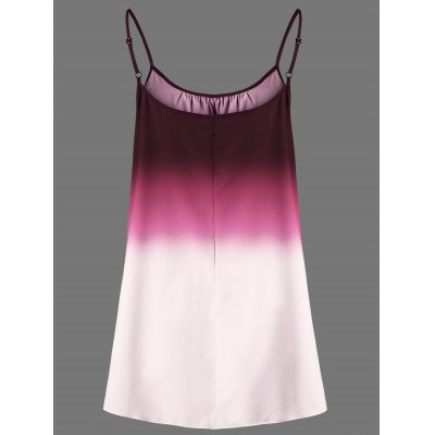 Plus Size Ombre Cami TopTank Tops<br>Plus Size Ombre Cami Top<br><br>Collar: Spaghetti Strap<br>Material: Cotton, Cotton Blends, Polyester<br>Package Contents: 1 x Top<br>Pattern Type: Print<br>Season: Spring, Summer<br>Shirt Length: Regular<br>Sleeve Length: Sleeveless<br>Style: Fashion<br>Weight: 0.1400kg