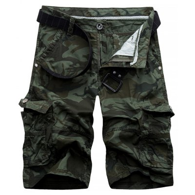 Camouflage Army Cargo Shorts