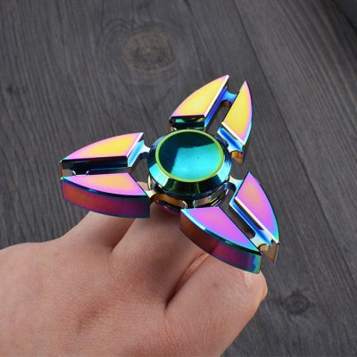 Colorful Stress Relief Toy Crab Clip Fidget Finger Spinner