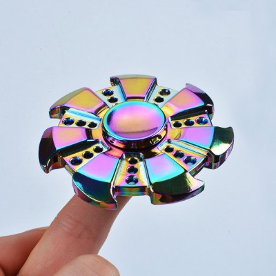 Colorful Stress Relief Toy Wheel Finger Fidget Spinner