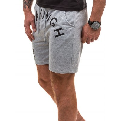 Number Graphic Print Drawstring Sweat ShortsMens Shorts<br>Number Graphic Print Drawstring Sweat Shorts<br><br>Closure Type: Drawstring<br>Fit Type: Regular<br>Front Style: Flat<br>Length: Short<br>Material: Cotton, Polyester<br>Package Contents: 1 x Shorts<br>Style: Fashion<br>Waist Type: Mid<br>Weight: 0.1990kg<br>With Belt: No