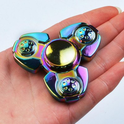 Colorful Stress Relief Toy Finger Gyro Spinner