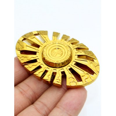 Sun God Cut Out Finger Gyro Spinner Focus Toy
