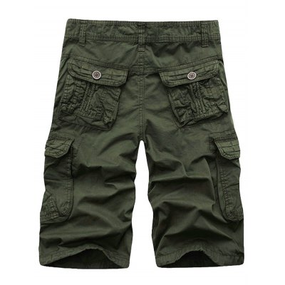 Zip Fly Cargo Shorts with PocketsMens Shorts<br>Zip Fly Cargo Shorts with Pockets<br><br>Closure Type: Zipper Fly<br>Fit Type: Regular<br>Front Style: Pleated<br>Length: Knee-Length<br>Material: Cotton, Polyester<br>Package Contents: 1 x Shorts<br>Style: Casual<br>Waist Type: Mid<br>Weight: 0.4200kg<br>With Belt: No