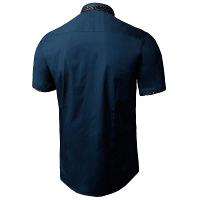 Printed Panel Pocket ShirtMens Shirts<br>Printed Panel Pocket Shirt<br><br>Collar: Turn-down Collar<br>Material: Cotton, Polyester<br>Package Contents: 1 x Shirt<br>Pattern Type: Print<br>Shirts Type: Casual Shirts<br>Sleeve Length: Short<br>Weight: 0.2800kg
