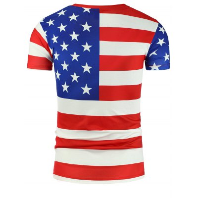 3D Eagle with Patriotic Print T-ShirtMens Short Sleeve Tees<br>3D Eagle with Patriotic Print T-Shirt<br><br>Collar: Crew Neck<br>Embellishment: 3D Print<br>Material: Cotton Blends<br>Package Contents: 1 x T-Shirt<br>Pattern Type: Animal<br>Sleeve Length: Short<br>Style: Fashion<br>Weight: 0.2350kg