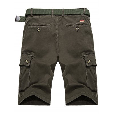 Zip Fly Cargo Shorts with Button PocketsMens Shorts<br>Zip Fly Cargo Shorts with Button Pockets<br><br>Closure Type: Zipper Fly<br>Fit Type: Regular<br>Front Style: Pleated<br>Length: Knee-Length<br>Material: Cotton, Spandex<br>Package Contents: 1 x Shorts<br>Style: Casual<br>Waist Type: Mid<br>Weight: 0.4000kg<br>With Belt: No