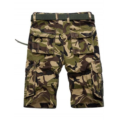 Flap Pocket Camo Cargo ShortsMens Shorts<br>Flap Pocket Camo Cargo Shorts<br><br>Closure Type: Zipper Fly<br>Fit Type: Regular<br>Front Style: Pleated<br>Length: Knee-Length<br>Material: Cotton, Spandex<br>Package Contents: 1 x Shorts<br>Style: Casual<br>Waist Type: Mid<br>Weight: 0.4500kg<br>With Belt: No
