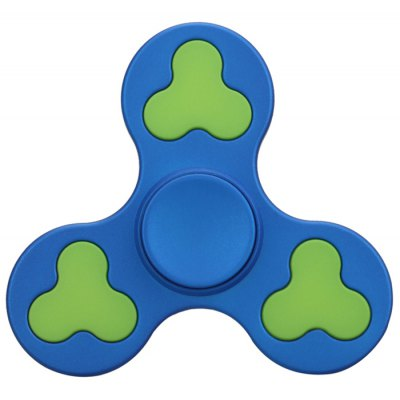 Focus Toy Color Block Triangle Fidget Spinner Fidgeting Toy for Anxiety
