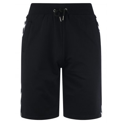 Drawstring Side Arrows Print Sweat ShortsMens Shorts<br>Drawstring Side Arrows Print Sweat Shorts<br><br>Closure Type: Drawstring<br>Fit Type: Regular<br>Front Style: Flat<br>Length: Bermuda<br>Material: Cotton, Polyester<br>Package Contents: 1 x Shorts<br>Style: Fashion<br>Waist Type: Mid<br>Weight: 0.3400kg<br>With Belt: No