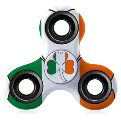 Anti-Stress Toy EDC Patterned Fidget Spinner