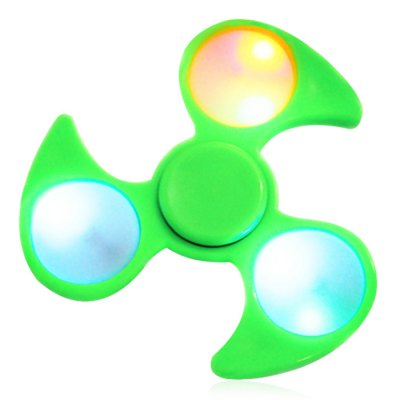 Fiddle Toy Fidget Spinner with Colorful Flashing LED Lights