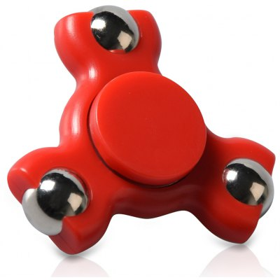 Stress Relief Toy Triangle Ball Bearing Fidget Spinner