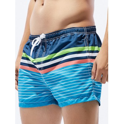 Drawstring Ombre Stripe Print Straight Leg Board ShortsMens Shorts<br>Drawstring Ombre Stripe Print Straight Leg Board Shorts<br><br>Closure Type: Drawstring<br>Fit Type: Regular<br>Front Style: Flat<br>Length: Short<br>Material: Cotton, Polyester<br>Package Contents: 1 x Board Shorts<br>Style: Fashion<br>Waist Type: Mid<br>Weight: 0.1270kg<br>With Belt: No
