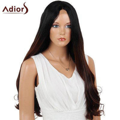 Adiors Dyeable Perm Long Middle Part Straight 180% Lace Front Synthetic WigLace Front Wigs<br>Adiors Dyeable Perm Long Middle Part Straight 180% Lace Front Synthetic Wig<br><br>Bang Type: Middle<br>Cap Construction: Capless<br>Cap Size: Average<br>Density: 180%<br>Heat Resistant: Below 180?<br>Lace Wigs Type: Lace Front Wigs<br>Length: Long<br>Length Size(Inch): 26<br>Material: Synthetic Hair<br>Occasion: Daily<br>Package Contents: 1 x Wig 1 x Hair Net 1 x Comb 1 x Hair Clip(Set)<br>Style: Straight<br>Type: Full Wigs<br>Weight: 0.3550kg