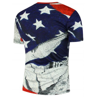 American Flag Soldier Printed Short Sleeve T-ShirtMens Short Sleeve Tees<br>American Flag Soldier Printed Short Sleeve T-Shirt<br><br>Collar: Round Neck<br>Material: Cotton, Polyester<br>Package Contents: 1 x T-Shirt<br>Pattern Type: American Flag<br>Sleeve Length: Short<br>Style: Fashion<br>Weight: 0.1800kg