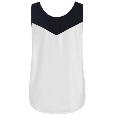 Plus Size Curved Two Tone Tank TopPlus Size Tops<br>Plus Size Curved Two Tone Tank Top<br><br>Collar: Round Neck<br>Material: Polyester<br>Package Contents: 1 x Tank Top<br>Pattern Type: Solid<br>Season: Summer<br>Shirt Length: Regular<br>Sleeve Length: Sleeveless<br>Style: Casual<br>Weight: 0.3000kg