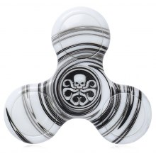 Anti-stress Toy Plastic Patterned Fidget Spinner