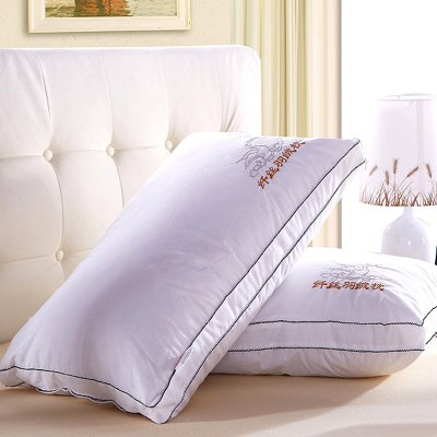 VIP Life Feather Fabric Soft Close Skin Pillow