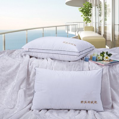 VIP Life Feather Fabric Soft Close Skin PillowPillow<br>VIP Life Feather Fabric Soft Close Skin Pillow<br><br>Materials: 100% Cotton<br>Package Contents: 1 x Pillow<br>Package Size ( L x W x H ): 40.00 x 25.00 x 2.00 cm / 15.75 x 9.84 x 0.79 inches<br>Pattern Type: Animal<br>Shape: Rectangle<br>Size(CM): W48*L74 CM / W18.8*L29.1 INCH<br>Type: Bedding Pillows<br>Weight: 0.9900kg