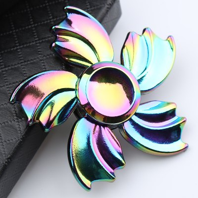 Colorful Fish Fin Metal Hand Spinner Fidget Toy