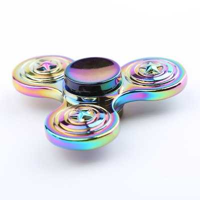 Zinc Alloy Colorful Star EDC Fidget SpinnerFidget Spinners<br>Zinc Alloy Colorful Star EDC Fidget Spinner<br><br>Features: Creative Toy<br>Frame material: Zinc Alloy<br>Package Contents: 1 x Fidget Spinner<br>Products Type: Fidget Spinner<br>Shape/Pattern: Star<br>Swing Numbers: Tri-Bar<br>Theme: Funny<br>Weight: 0.0950kg