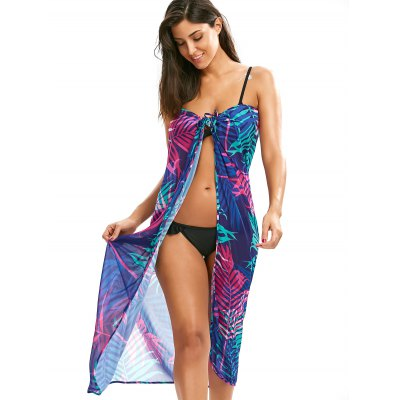Tropical Leaf Cover Up Slip DressWomens Swimwear<br>Tropical Leaf Cover Up Slip Dress<br><br>Cover-Up Type: Dress<br>Gender: For Women<br>Material: Polyester<br>Package Contents: 1 x Cover Up Dress<br>Pattern Type: Plant, Print<br>Placement Print: No<br>Sleeve Length: Sleeveless<br>Waist: Natural<br>Weight: 0.2400kg