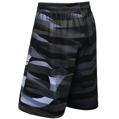 Drawstring Elastic Waist Printed Sports ShortsMens Shorts<br>Drawstring Elastic Waist Printed Sports Shorts<br><br>Closure Type: Drawstring<br>Fit Type: Loose<br>Front Style: Flat<br>Length: Short<br>Material: Polyester<br>Package Contents: 1 x Shorts<br>Style: Casual<br>Waist Type: Mid<br>Weight: 0.2000kg<br>With Belt: No
