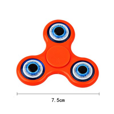 Devil Eyes Focus Toy Hand Fidget SpinnerFidget Spinners<br>Devil Eyes Focus Toy Hand Fidget Spinner<br><br>Features: Creative Toy<br>Frame material: Plastic<br>Package Contents: 1 x Fidget Spinner<br>Products Type: 1 x Fidget Spinner<br>Shape/Pattern: Triangle<br>Size(CM): 7.5CM<br>Swing Numbers: Tri-Bar<br>Weight: 0.0700kg