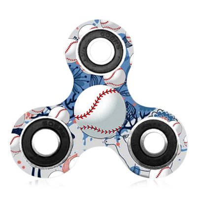 Fiddle Toy Baseball Patterned Tri-bar Plastic Fidget SpinnerFidget Spinners<br>Fiddle Toy Baseball Patterned Tri-bar Plastic Fidget Spinner<br><br>Features: Creative Toy<br>Frame material: Plastic<br>Package Contents: 1 x Fidget Spinner<br>Products Type: Fidget Spinner<br>Shape/Pattern: Ball<br>Swing Numbers: Tri-Bar<br>Theme: Sports<br>Weight: 0.0700kg